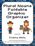 Spelling Plural Nouns Foldable Graphic Organizer