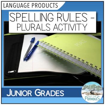 Spelling Plurals Rules activity