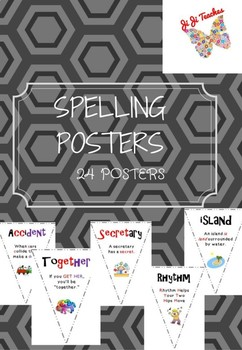 Spelling Posters