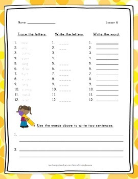 Spelling Word Practice - 2nd Grade - Journeys Complete Year Bundle