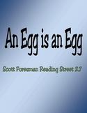 An Egg is an Egg - Scott Foresman Spelling Practice Grade 1