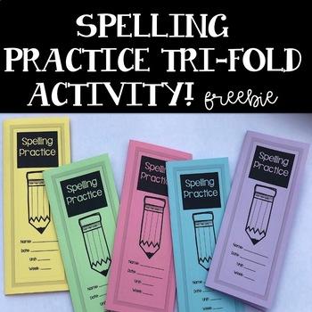 Spelling Practice Brochure
