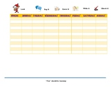 Spelling Practice Charts
