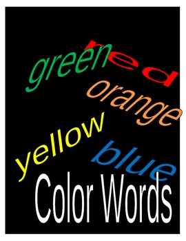 Spelling Practice - Colors