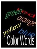Spelling Practice - Colors