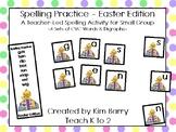 Spelling Practice Easter Edition/K Spelling/Phonics/Beginn
