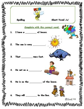 Spelling Practice For First Graders
