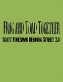 Frog and Toad Together - Scott Foresman Spelling Practice Grade 1