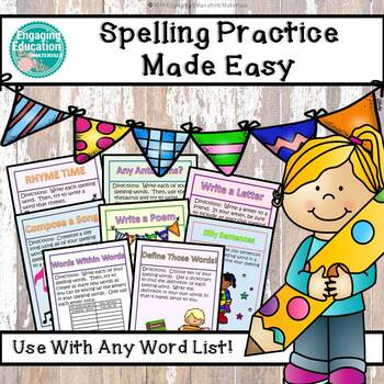 Spelling Practice Made Easy