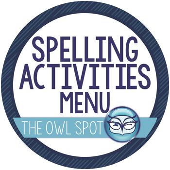 Spelling Practice Menu