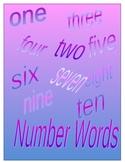 Spelling Practice - Number Words