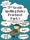 2nd Grade Spelling Rules Practice Part 1: Orton-Gillingham Inspired