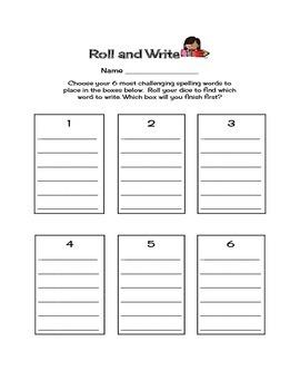 Spelling Activity Practice Pack