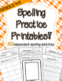 Word Work Activities for Big Kids! (60 Printables for ANY SPELLING LIST)