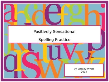 Spelling Practice Task Cards and Activities