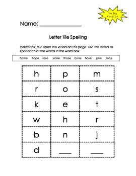 The Big Circle - Scott Foresman Spelling Practice Grade 1