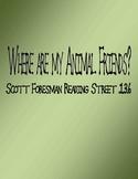 Where are My Animal Friends - Scott Foresman Spelling Prac