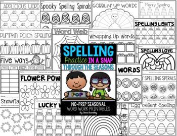 Spelling Practice in a Snap BUNDLE