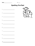 Spelling Pre-Test with 10 words
