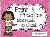 Spelling Print and Practice -ip Chunk Mini Pack