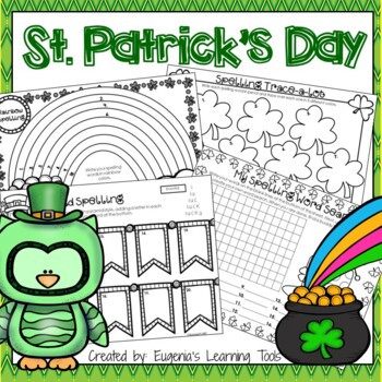 Spelling Practice Printables for St. Patrick's Day