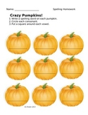 Spelling Pumpkins