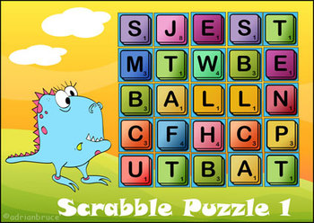 Spelling Puzzles - 10 'Scrabble' like Puzzles in One Download