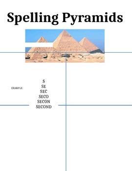 Spelling Pyramids