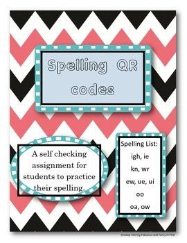 QR codes-phonics spelling {READING STREET-1ST GRADE}