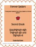 Spelling - Quadrigraph eigh, Trigraph igh and Digraph ei - 2nd Grade