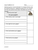 Spelling Questions using Long Vowel Teams