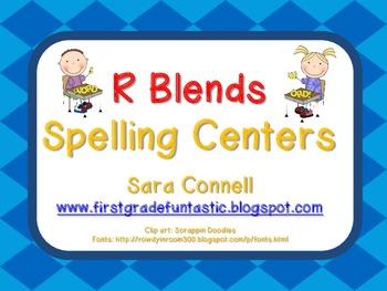Spelling *R Blends* Freebie