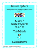 Spelling - R Controlled Syllable - 3rd Grade