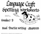 Spelling-Reading Worksheets Grades 1-3