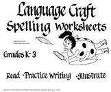 Spelling-Reading Worksheets Grades K-3