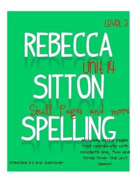 Spelling - Rebecca Sitton 3rd Grade - Unit 16 - Plus!