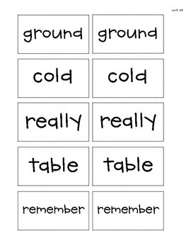 Spelling - Rebecca Sitton 3rd Grade - Unit 29