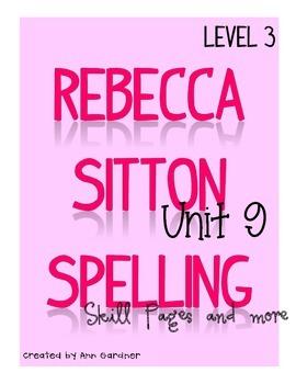 Spelling - Rebecca Sitton 3rd Grade - Unit 9