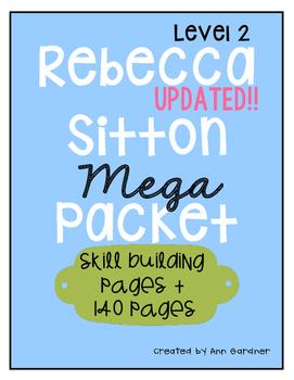 Spelling - Rebecca Sitton Grade 2 - MEGA Pack - Skill Building & Core Words