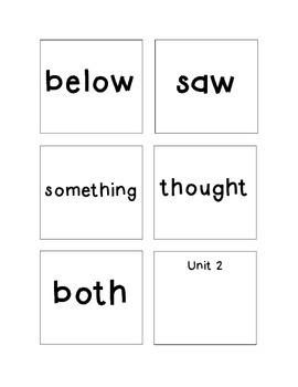 Spelling - Rebecca Sitton Grade 3 - Core Word Complete List - Big Words
