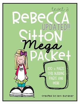 Spelling - Rebecca Sitton Grade 3 - MEGA Pack - Skill Building & Core Words
