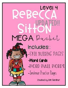 Spelling - Rebecca Sitton Grade 4 - MEGA Pack - Skill Buil