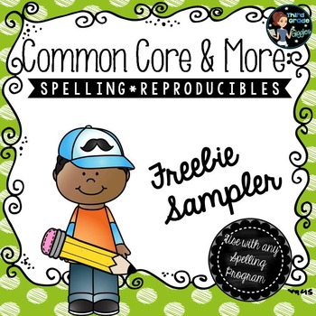 Spelling Reproducibles Free