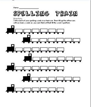 Spelling Reproducibles for any List