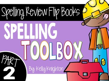 Spelling Review Flip Books: Part 2 {First Grade}