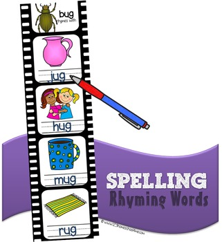 Spelling Rhyming Words