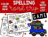 Spelling Road Trip Game: Use Any List