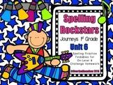Spelling Rockstars Homework Foldables ~ Journeys 1st Grade-Unit 6