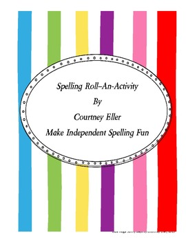 Spelling Roll-An-Activity