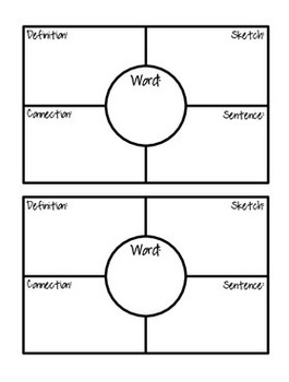 graphic model organizer frayer diagram ford model t engine diagram spelling/root/vocabulary word graphic organizers (based on ...